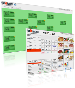 Program gestiune restaurant, bar, fast-food, pizzerie ForIT - Forms Restaurant
